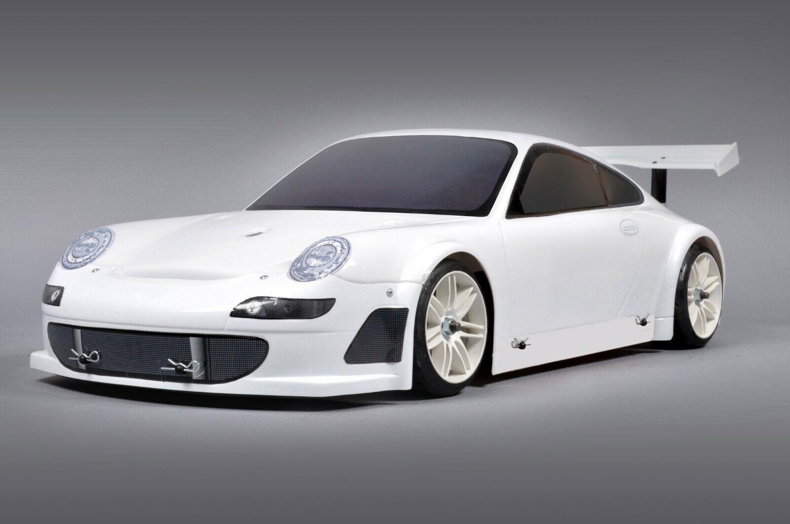 FG modelo Sport wd 510 chasis Porsche sin pintar 26 ccm non rtr