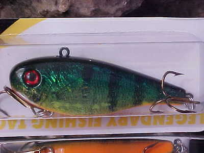 LINDY DARTER 1//2oz Casting//Jigging Lure LD505 PERCH for Open//Ice Fishing