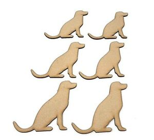 Wooden-MDF-Labrador-Craft-shape-embellishment-decoupage-Dog-shapes-Dog-gift
