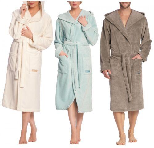 Vossen Lynn unisex VELLUTO CAPPOTTO Bagno Sauna Cappotto interno cappuccio in spugna colore a scelta