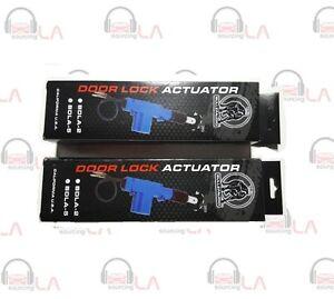 2X Bullz Audio BDLA-5 5-Wire Power Door Lock Actuator 12 Volts Motor BDLA5
