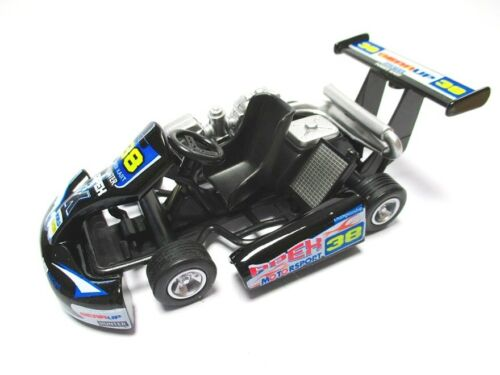 Go Kart Kart renncart métal miniature modèle noir 1:18?? NEUF