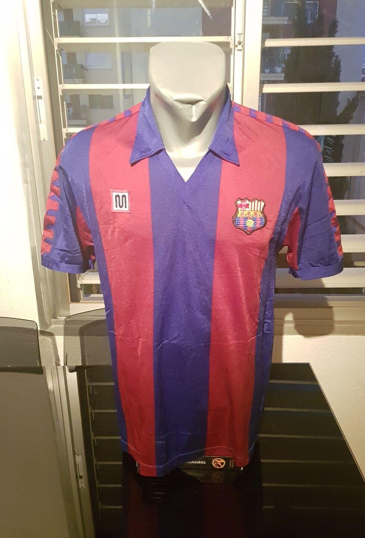CAMISETA SHIRT VINTAGE MUSEUM MEYBA FC BARCELONA MATCH WORN N°16 TALLA G L