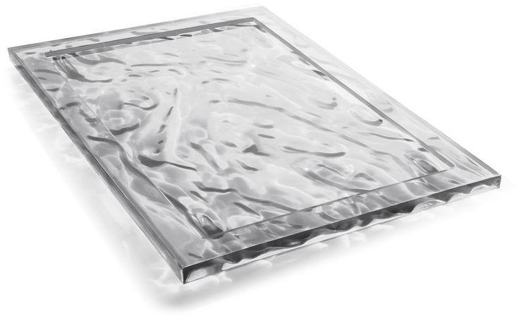 KARTELL plateau DUNE 46x32 cm ou 55x38 cm design de Mario Bellini
