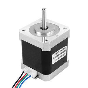 JK42HS48-1684 4-Wire 1.8 Degree 42mm 2A 12V NEMA17 2 Phase Hybird Stepper Motor