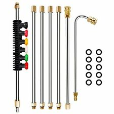 Twinkle Star Pressure Washer Extension Wand Set 85 Ft Replacement Lance With