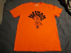 BNWOT-Men-039-s-Orange-Foci-Soft-Wash-T-Shirt-Top-Size-Large-L-Casual-Tee-Shirt