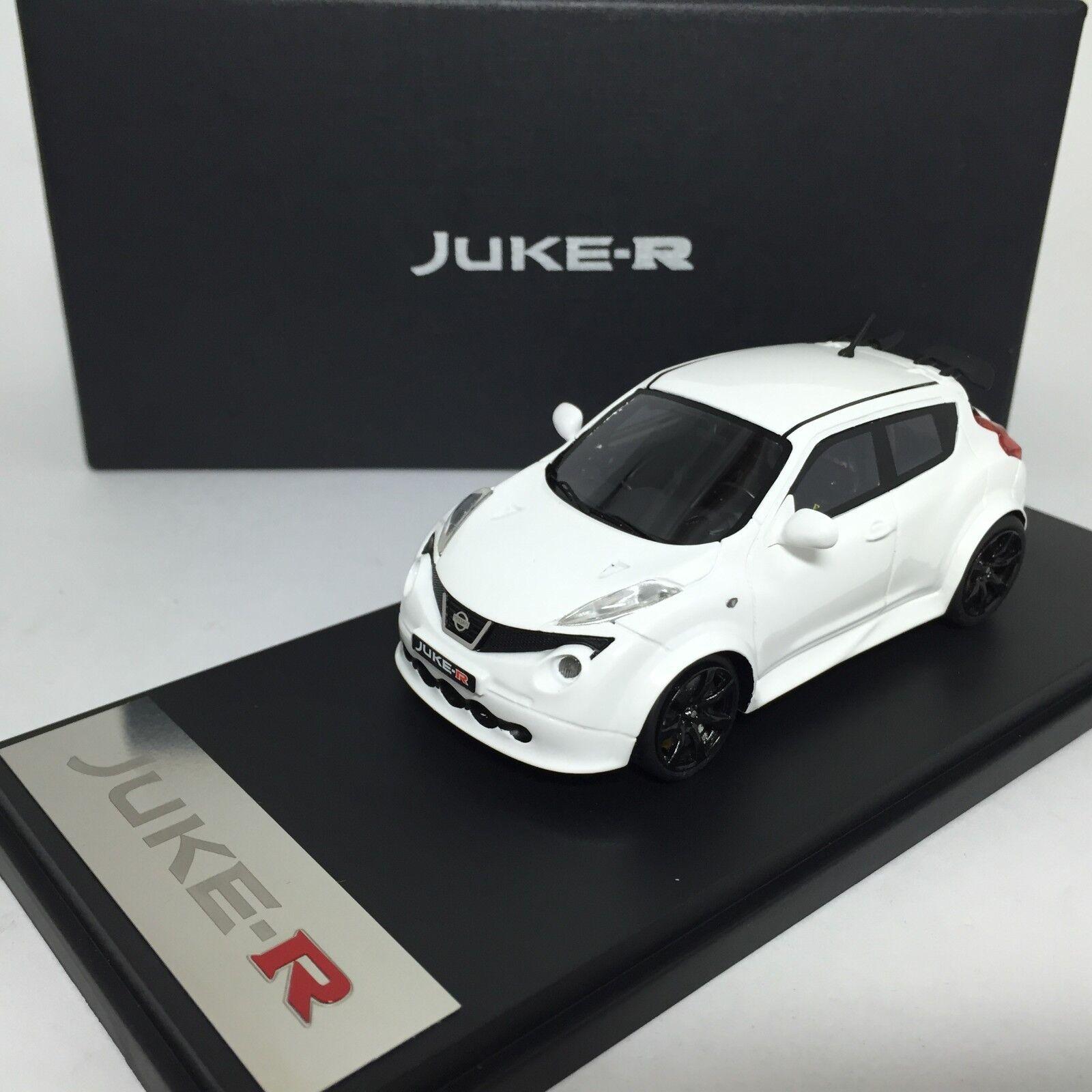 1/43 Mark Nissan NISMO JUKE-R White 2013 Resin Ltd 100pcs