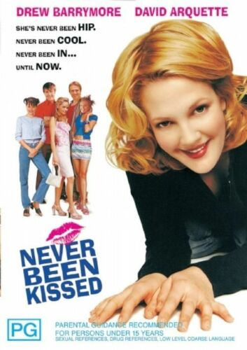 1 of 1 - Never Been Kissed (1999) Drew Barrymore - NEW DVD - Region 4