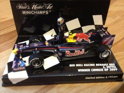 2009 Sebastian Vettel/Red Bull RB5 (China GP) - Minichamps 1:43 - (400 090115)