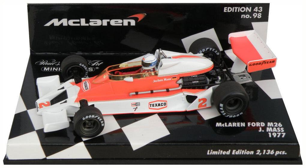 Minichamps McLaren Ford M26 1977 - Jochen Mass 1 43 Scale