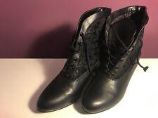 Funtasma Gothic Style Victorian Boots *UK 5*