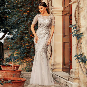 Ever-Pretty-Long-Mesh-Fishtail-Bodycon-Gown-Lace-Sleeve-Bridesmaid-Dress-07707