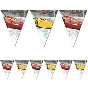 CARS-3-PLASTIC-PARTY-FLAG-BANNER-2-3-METERS-DISNEY-PIXAR-NEW-GIFT