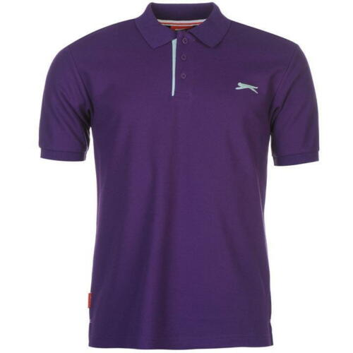 Slazenger Mens Short Sleeve Polo Shirt Size 4XL BNWT Yellow Uk Freepost