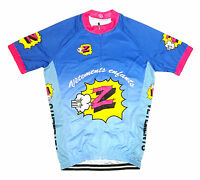 Z VETEMENTS RETRO VINTAGE CYCLING TEAM BIKE JERSEY (Greg Lemond Tour de France)