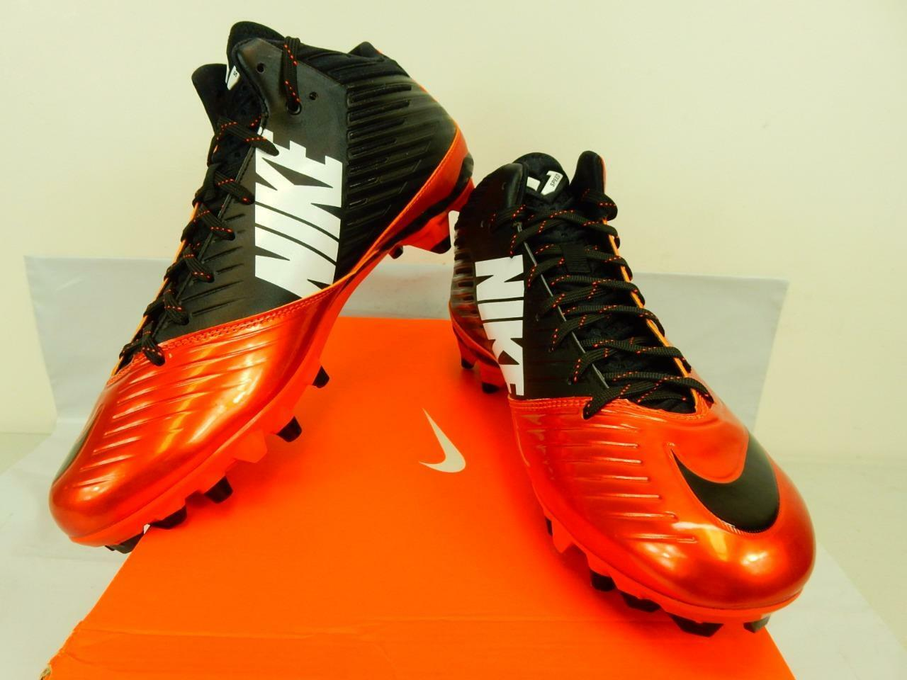 NIB 105 Mens Nike Nike Nike Vapor Speed Mid 3 4 TD Football Cleats 643155 800 U.S. Size 10 0896c7
