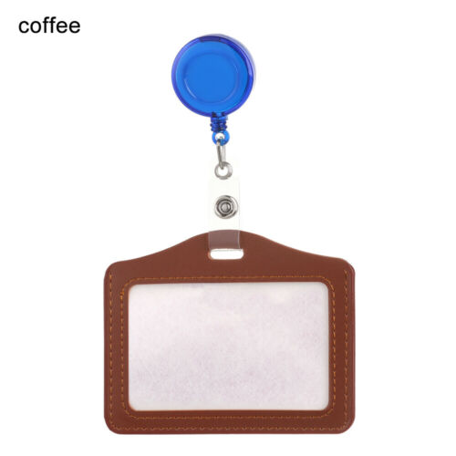 Identity Tag Protective Shell with Retractable Reel Badge Case ID Card Holder