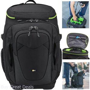 648c9c82b345a Case Logic KDB-101 Kontrast Pro-DSLR Backpack Black 85854233668   eBay