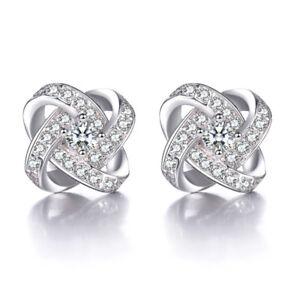 925-Sterling-Silver-Stud-Earrings-Crystal-Star-Shape-For-Women-Fashion-Jewelry