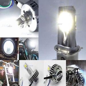 H4-H6-H7-12V-24V-36V-LED-18-12W-White-Motorcycle-H-L-Bi-xenon-headlight-BULB