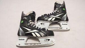 Scott-Hartnell-Used-Reebok-11K-Pro-Stock-Ice-Hockey-Skates-Size-9-25-D-A-Flyers