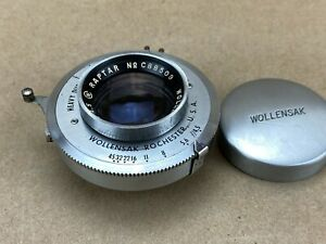 Wollensak-127mm-f-4-5-Raptar-Large-Format-Lens-with-Alphax-Synchromatic-Shutter