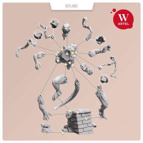 """Cripoid Brute Artel /""""W/"""" Miniatures AWM139"""