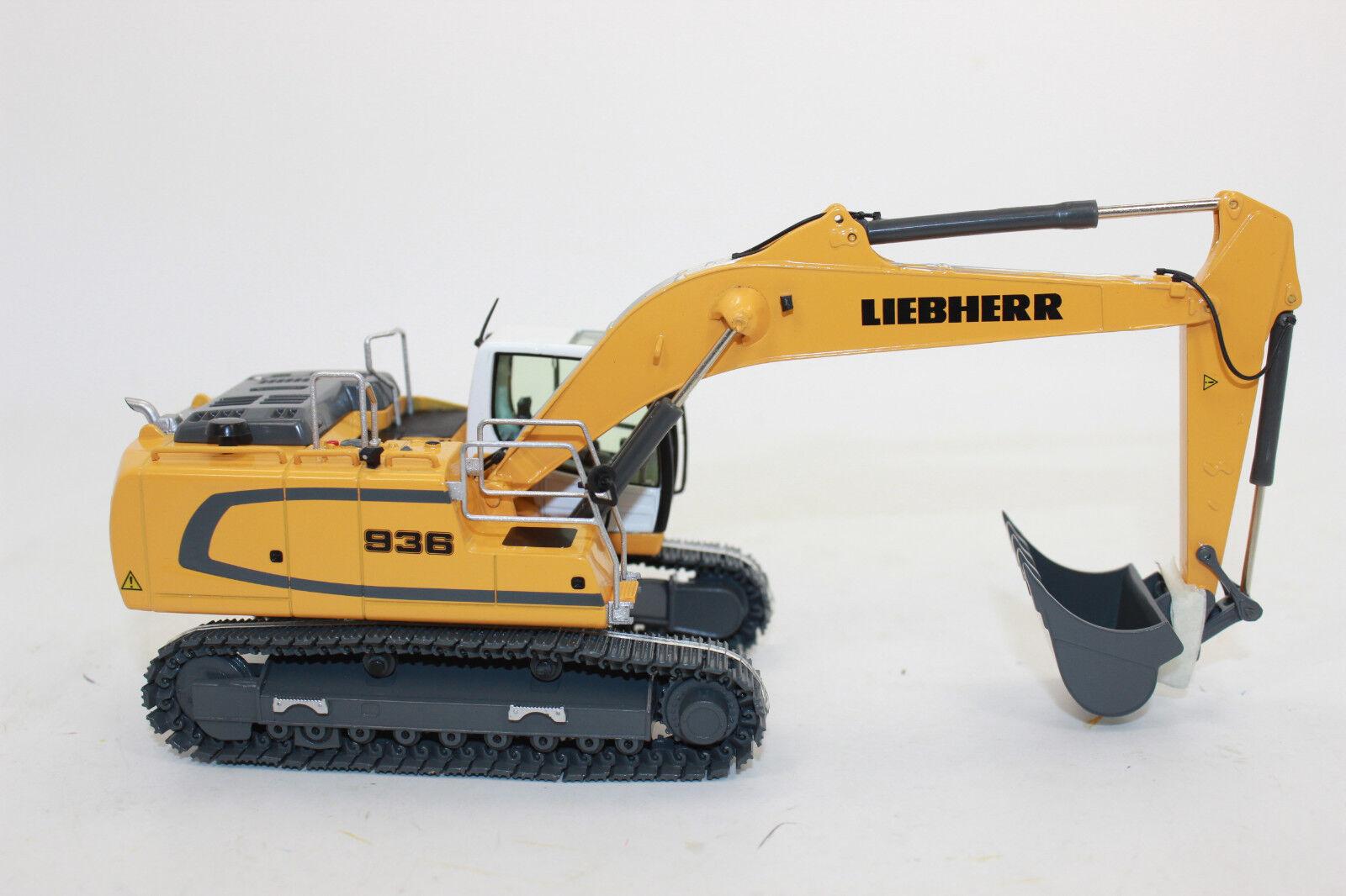 Nzg 957 Liebherr R 936 936 936 Crawler Excavator Animal IV 1 50 New Original Packaging 9c2