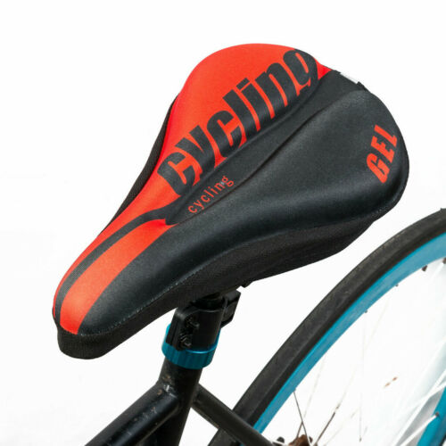 Mountain Bike Comfort Soft Gel Pad Cushion Saddle Seat Cover Bicycle Cycle