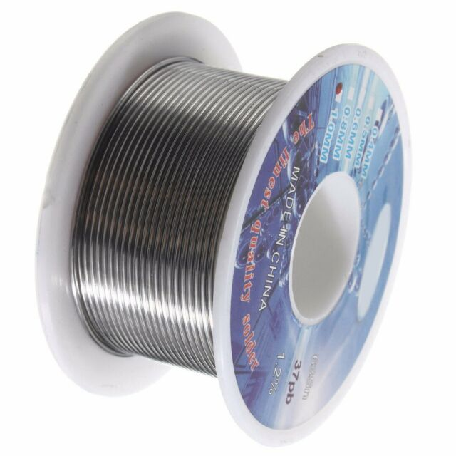 63//37 1mm Tin Lead Rosin Core Flux Solder Soldering Welding Iron Wire Reel