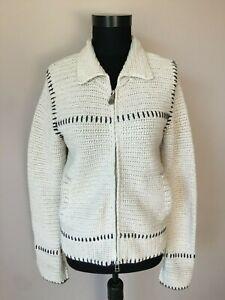 Odd-Molly-Damen-Strickjacke-Jacke-Handmade-Gr-2-M-38-100-Baumwolle
