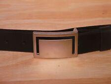 1 1/4 Inch Leather Trouser Belt Waist Size Mens Stylish Finish Dress Belts Wide