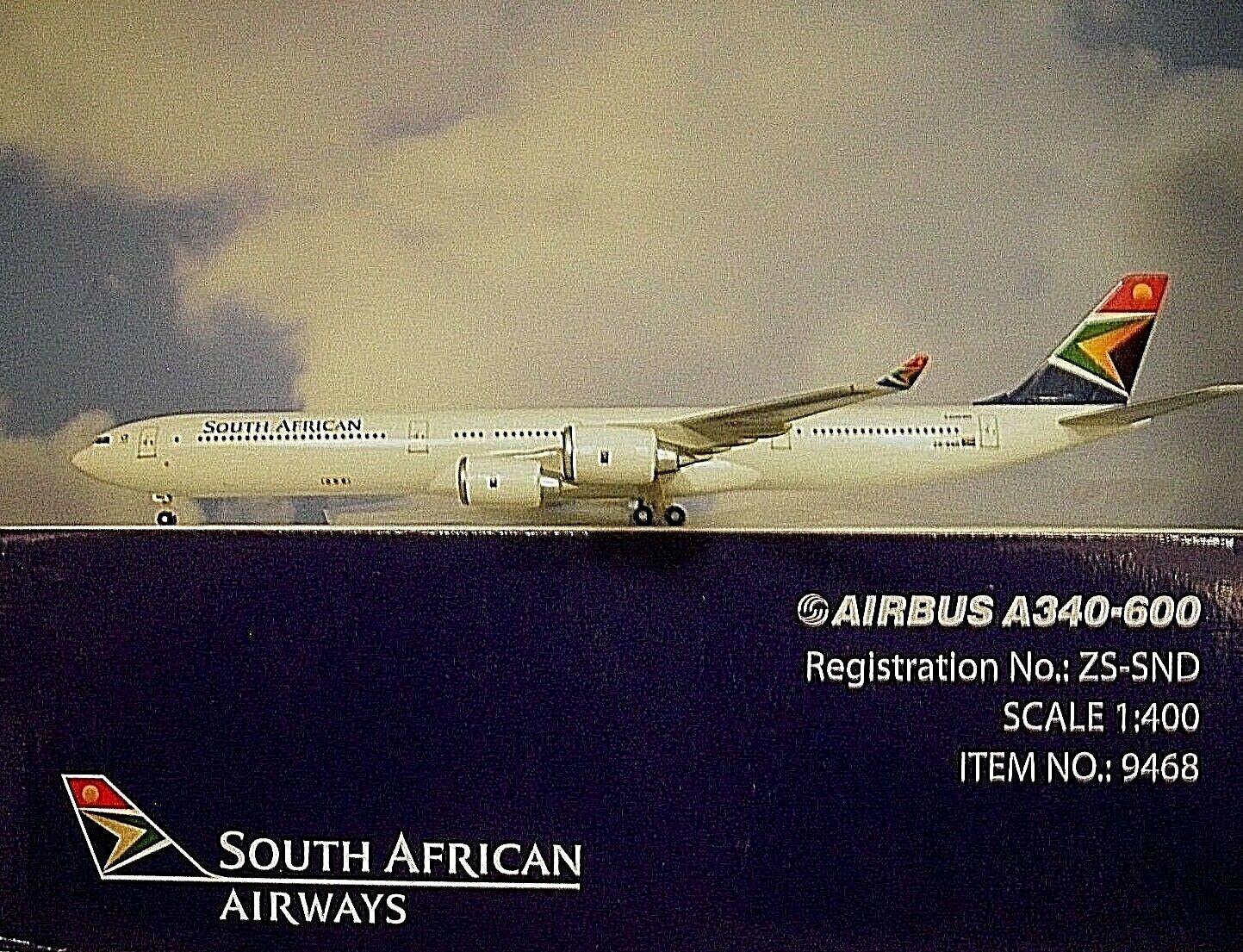 están haciendo actividades de descuento Hogan Wings 1 400 Airbus A340-600 South Africano Africano Africano Vías Respiratorias Zs-Snd  presentando toda la última moda de la calle
