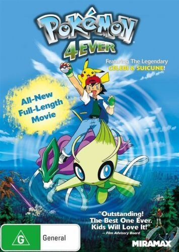 1 of 1 - Pokemon Movie 4 - Pokemon 4Ever Forever DVD R4