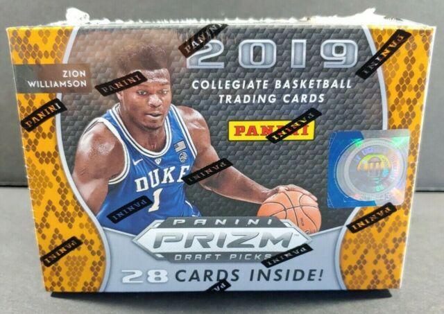 2019-20 Panini Prizm NBA Draft Picks Collegiate Basketball Blaster Box (Zion)