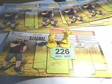 Zombicide Gaming night 5 Azaghal zombivor survivor miniature Lot 226