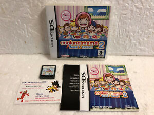 Jeu-Video-Cooking-Mama-2-Tous-a-Table-DS-LITE-DSI-XL-3DS-Nintendo-Complet-VF