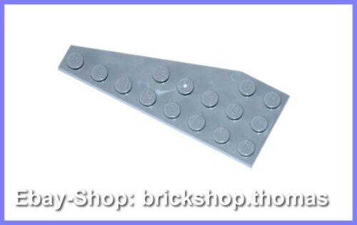 8 x 3 gray Wedge Plate Lego Flügel 50304 grau Platte rechts NEU // NEW