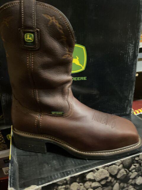john deere boots steel toe