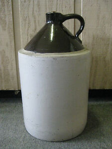 Antique Blue Crown Pottery 5 Gallon Jug Ebay
