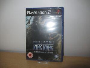 PS2-KING-KONG-PLAYSTATION-2-NEW-SEALED-PAL-VERSION