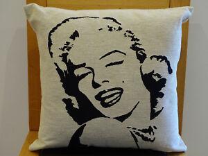 Cuscini Marilyn Monroe.18 Marilyn Monroe Belga Intrecciato Cuscino Tappezzeria Belgio 45