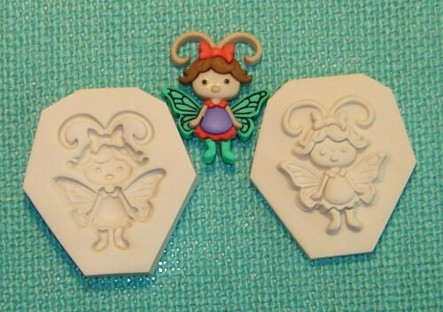 Baby Girl Butterfly Pixie Fairy Polymer Clay Mold CUTE 0 S//H AFTER 1st item #2