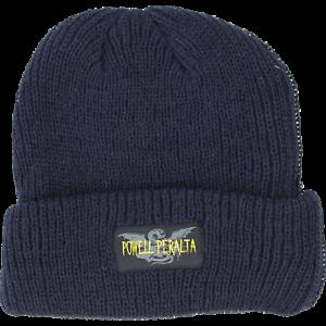 Powell-Peralta-Logo-Skateboard-Beanie-Blue