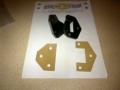 TR4 TR4A TR5 TR250 TR6 DOOR HINGE 650112 AND TWO GASKET SHIMS 610042 + 650112G