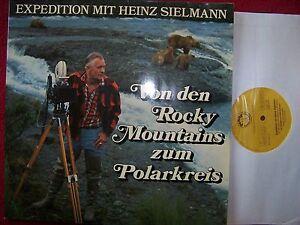 Von-den-Rocky-Mountains-zum-Polarkreis-Heinz-Sielmann-rare-LP-mit-Buch