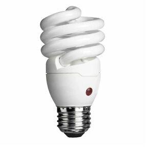 Philips Energy Saver Compact Fluorescent Dusk To Dawn 14 Watt Twister Light Bulb
