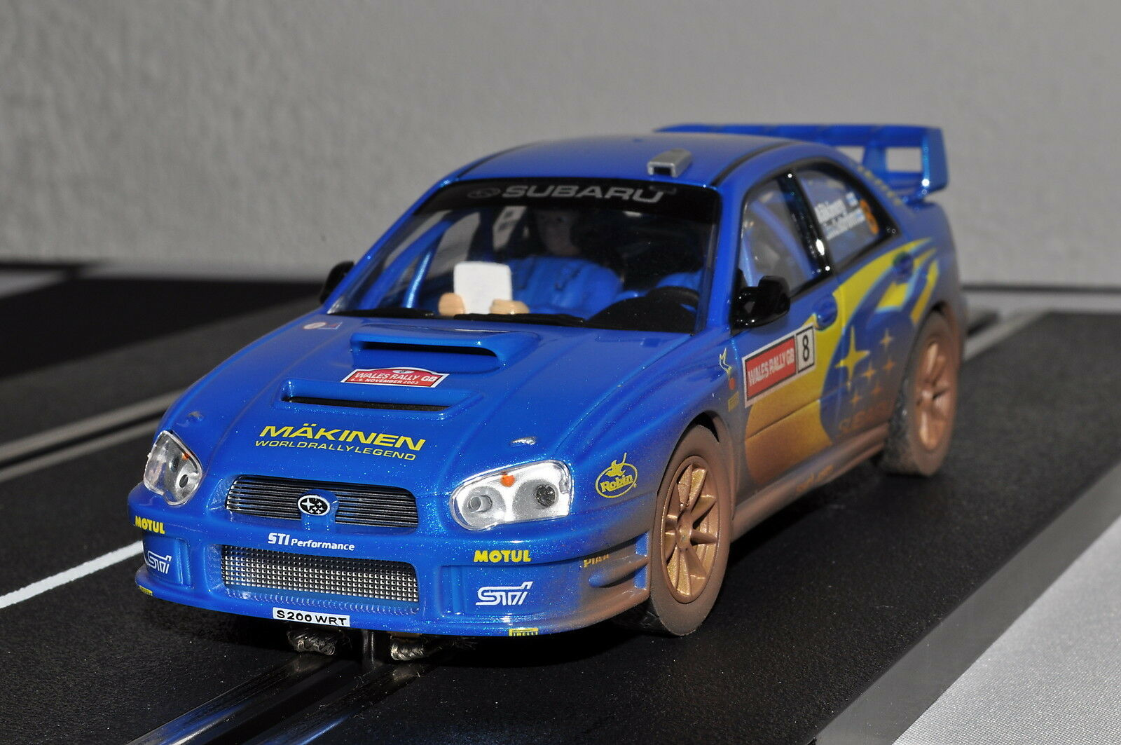 Subaru Impreza WRC Rally GB 2003, 25734, Carrera Evolution, neu