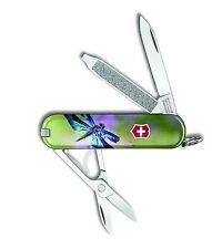 Victorinox Swiss Army Key Chain Knife Classic Ltd Ed - Dragonfly - Free Ship